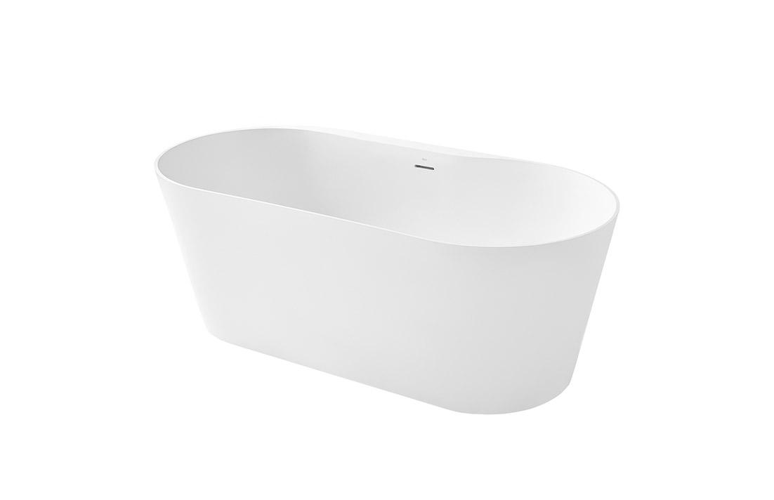 Bañera Roca Alena Surfex® ovalada blanca