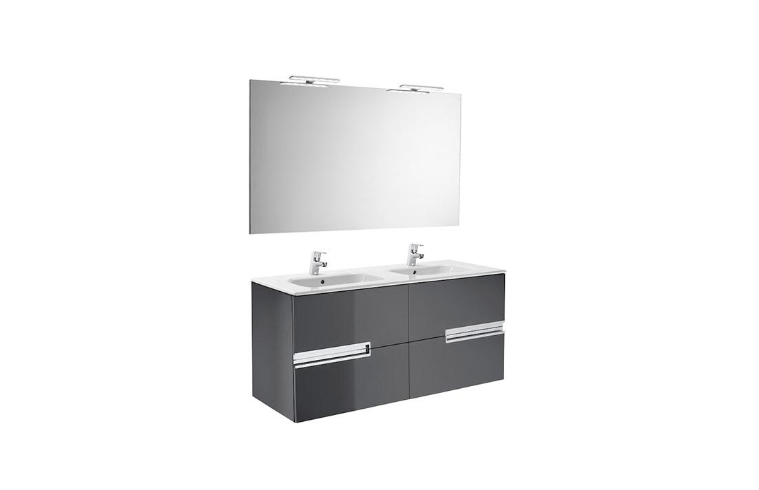 Mueble de baño Victoria N 120×46 cm