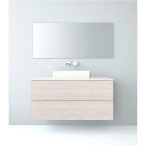 Mueble baño modular 80x46 lavabo sobre-encimera