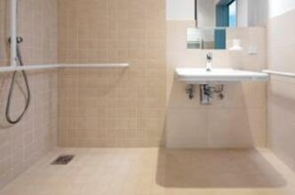 baños para pacientes